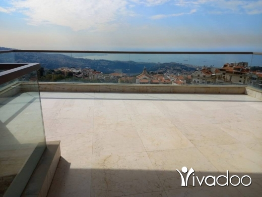 Duplex in Ballouneh - L07621-New Duplex for Sale in Ballouneh with a Beautiful View