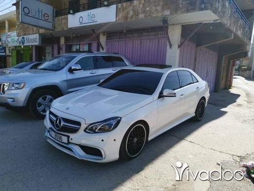 Mercedes-Benz in Beirut City - E 350 look 2015