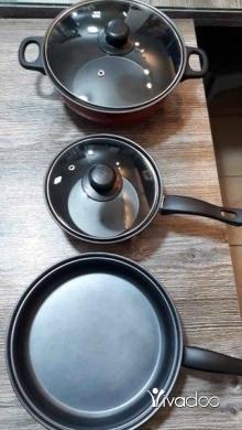 DIY Tools & Materials in Chtaura - مجموعة اواني تيفال غير لاصقة