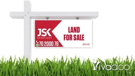 Land in Kfar Zebian - L07644-Land for Sale in Tilal Al Assal- Kfarzebian Via Banker's Check