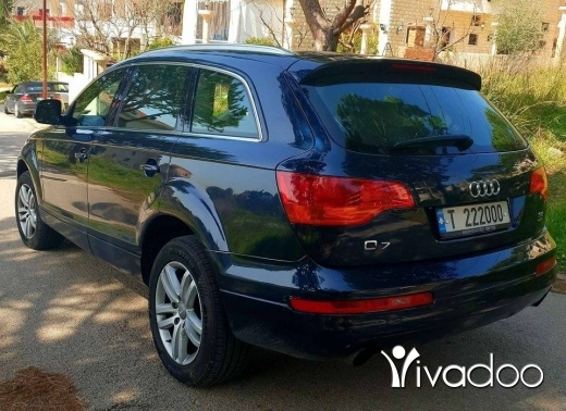 Audi in Beirut City - ‎Audi Q7 v6 3.6 model 2008 super clean full options شركة لبنانيه ماشيه ١٣٠ الف كلم‎