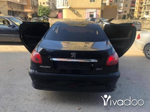 Peugeot in Tripoli - بيجو ٢٠٦ موديل ٢٠٠٨