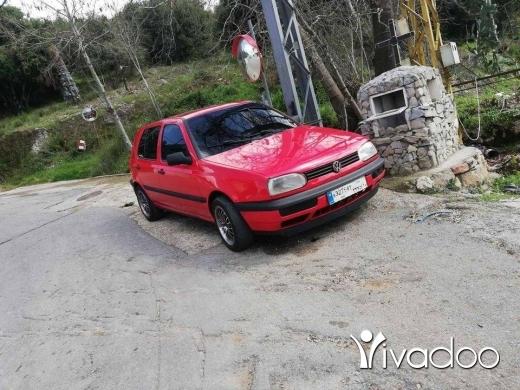 Volkswagen in Akkar el-Atika - غولف ٣ موديل ١٩٩٥