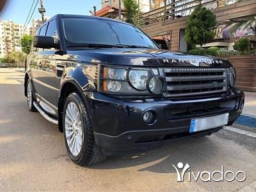 Rover in Tripoli - Ranj rover sport