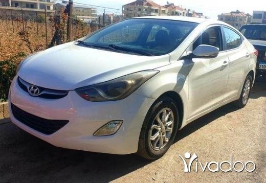 Hyundai in Zahleh - Hyundai elantra 2012