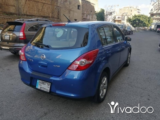 Nissan in Beirut City - Nissan Tida 2009 Full options