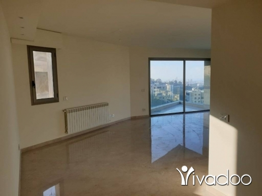 Apartments in Loueizeh - A decorated 180 m2 apartment having an open mountain/sea view for sale in Louayze