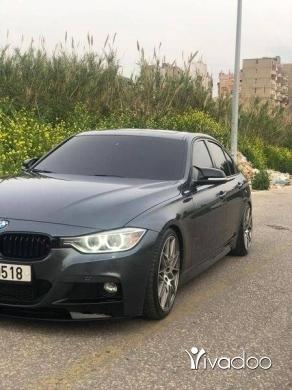 BMW in Tripoli - bmw F30 2012