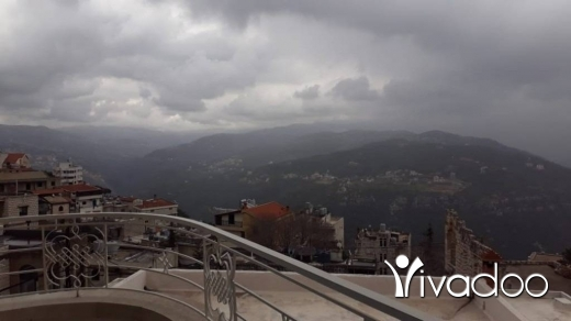 Apartments in Beit Meri - A 300 m2 apartment having an open mountain/sea view for rent in Bet Mery