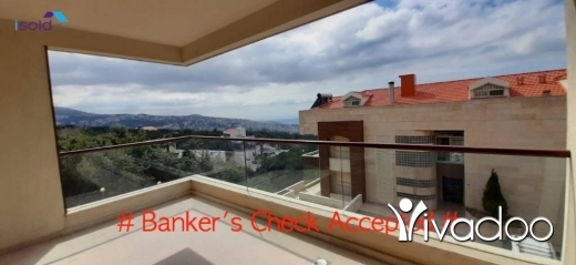 Apartments in Dbayeh -  A 220 m2 ground floor apartment for sale in Dbaye (bankers check accepted)
