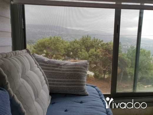 Apartments in Yarzeh - L07721 - Furnished Apartment for Rent in Yarzeh with Panoramic View - Cash!