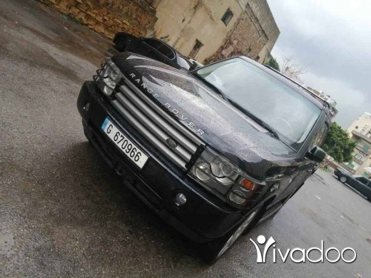 Rover in Beirut City - Range Rover Vogue HSE 2004