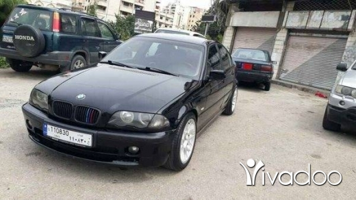 BMW in Beirut City - E46 model 2001