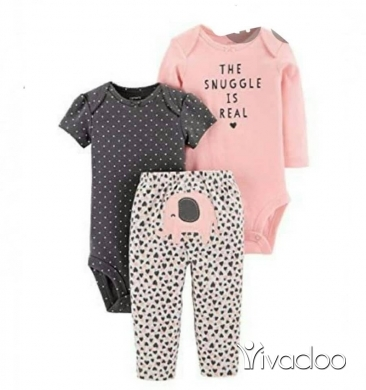 Clothes, Footwear & Accessories in Beirut City -  ❤️ 3  pcs cotton pijama's