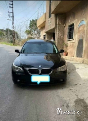 BMW in Beirut City - E60  525   2004
