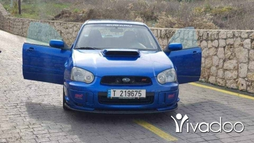 Subaru in Tripoli - #subaru impreza STI 2004