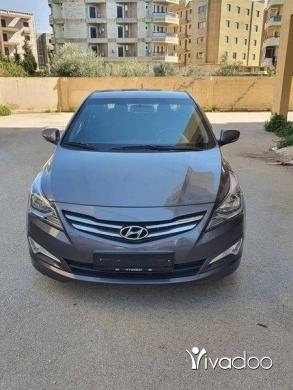 Hyundai in Tripoli - Hyundai Solaris (2018)