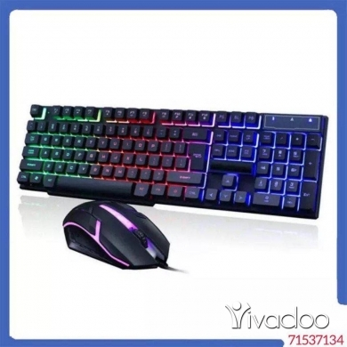 Computers & Software in Beirut City - GAMING MOUSE & KEYBOARD SET price 15$ for ordering WhatsApp:71537134