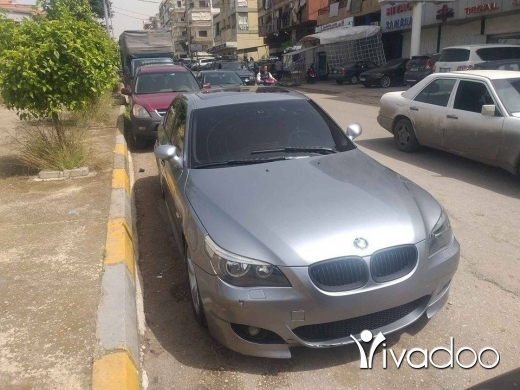 BMW in Tripoli - bmw e60 525 2005