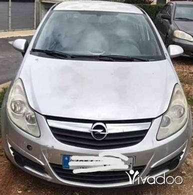 Opel in Tripoli - اوبل كورسا موديل ٢٠٠٨