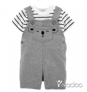 Clothes, Footwear & Accessories in Beirut City - Cotton Baby salopettes
