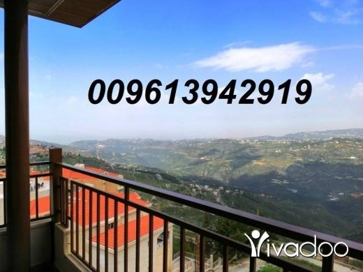 Apartments in Bhamdoun - شقق مفروشة للإيجار في جبل لبنان 009613942919