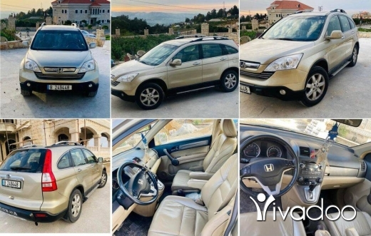Honda in Beirut City - Honda Crv 2008 Exl Europe للبيع او المقايضه