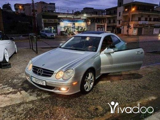 Mercedes-Benz in Tripoli - Clk 350