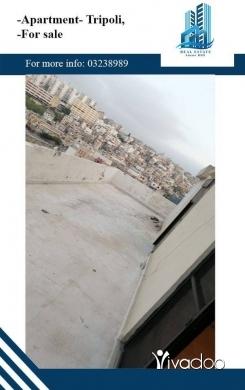 Apartments in Tripoli - شقة  للبيع في الزهرية