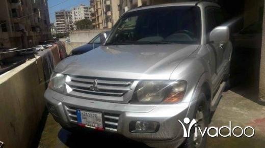 Mitsubishi in Tripoli - Montero limited 2002