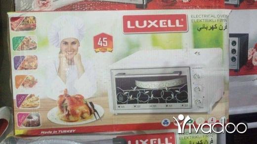 Appliances in Sour - فرن كهربا ماركة لوكسيل 45ليتر مع مروحة وضوء