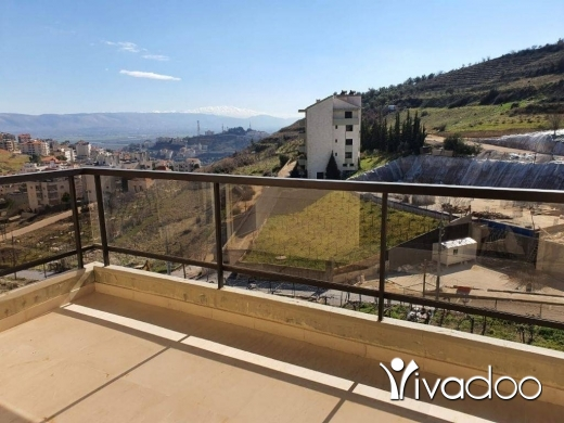 Apartments in Zahleh - two bedrooms furnished appartment for rent