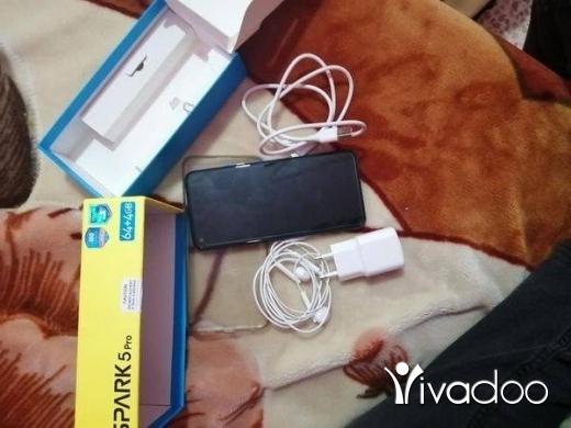 Téléphones, Téléphones Mobiles et Télécoms dans Tripoli - Tekno 5 pro 64gb 4ram