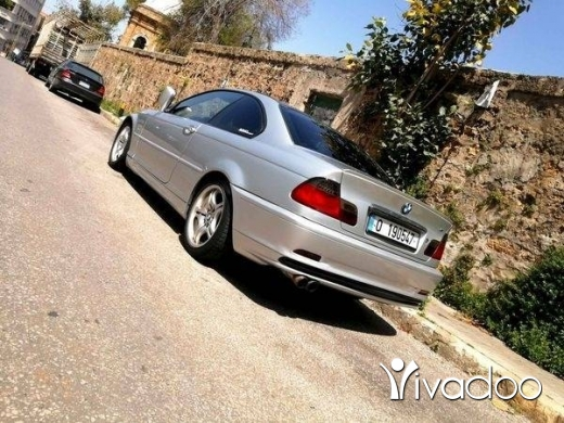 BMW in Beirut City - Bmw E46 318i Coupe 2001