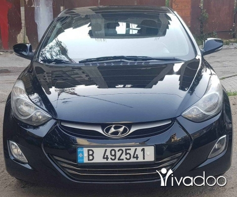 Hyundai in Beirut City - Hyundai elantra 2012 siyara shirke