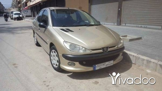 Peugeot in Tripoli - peugeot 206 2009
