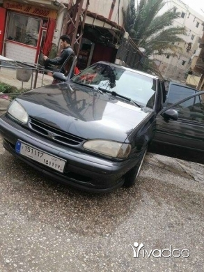 Daewoo in Tripoli - دايو ريسر موديل ٩٥   انقاض