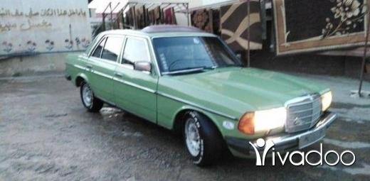 Mercedes-Benz in Akkar el-Atika - مرسيدس ٢٣٠ موديل ٧٩