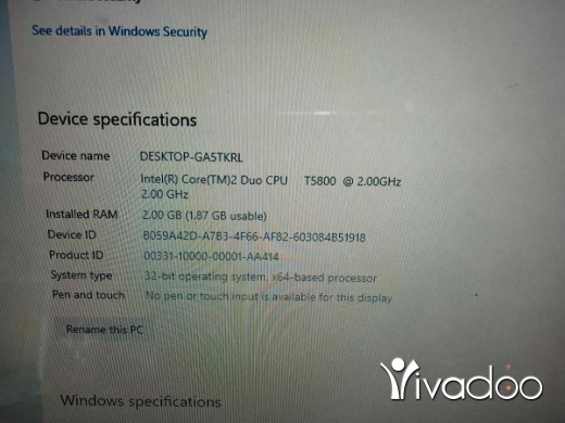 Computers & Software in Beirut City - TOSHIBA CORE 2 DUO WINDOWS 10 DDRAM 2 GB SSD HARDISK 120GB New Battery DOUBLE New BAG PRICE 1,300,