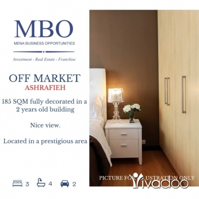 Apartments in Achrafieh - Off-market apartment for sale in Ashrafieh Beirut Lebanon