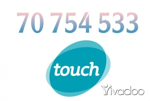 Phones, Mobile Phones & Telecoms in Beirut City - Number touch