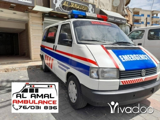 Rideshare & Car Pooling in Nabatyeh - ambulance for sale in dood condion not used