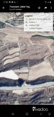 Land in Teffahta - عقار  ٢٤٠٠سهم على مرتفع جبل للبيع