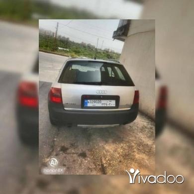 Audi in Tripoli - Audi allroad A6 twin turbo