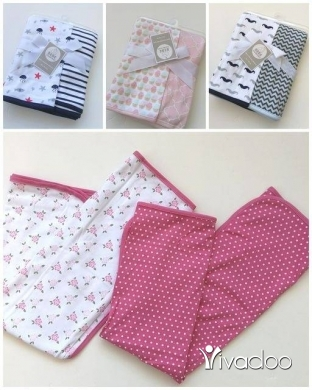 Clothes, Footwear & Accessories in Beirut City - 2 pcs cotton blanket