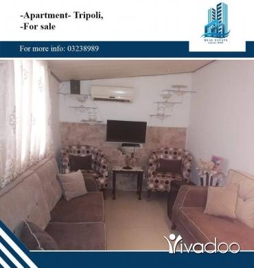Apartments in Tripoli - شقة للبيع في الكورة,