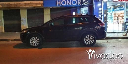 Mazda in Tripoli - cx9 black on black انقاض البيئة موجود