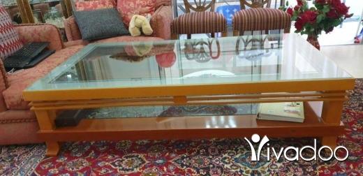 Home & Garden in Jal el-Dib - طاولة صالون وجه زجاج من فوق ومن تحت