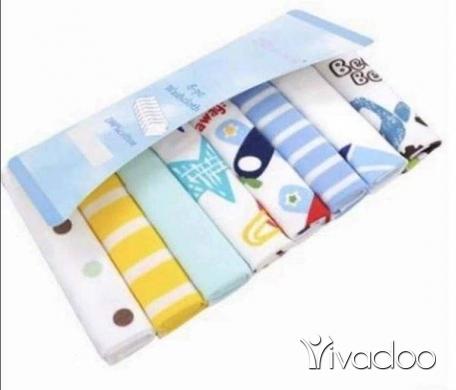 Clothes, Footwear & Accessories in Jounieh - 8 Cotton washcloths