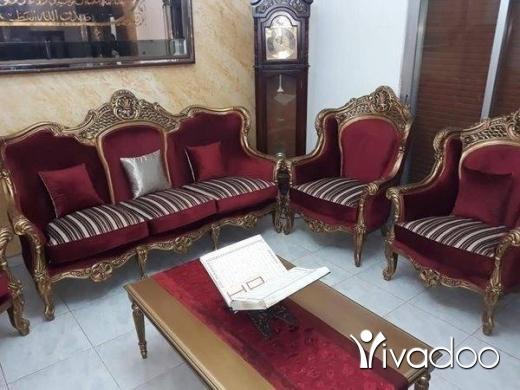 Home & Garden in Tripoli - طقم صالون فرنسي للليع